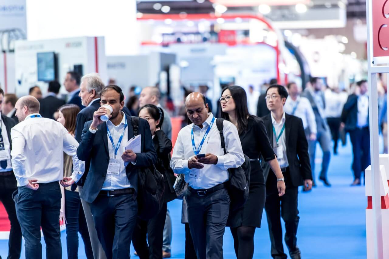 Visitors at IFSEC 2019