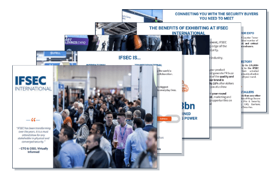The IFSEC sales brochure