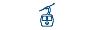 Icon of a cable car
