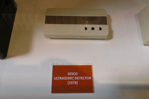 Sesco ultrasonic detector (1978)