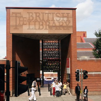 The British Library - Exterior