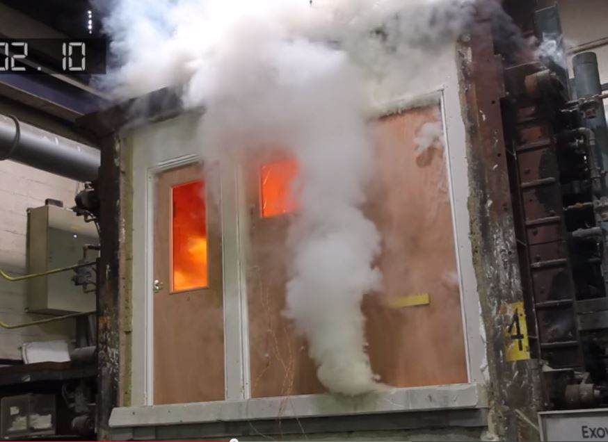 fire door test 2