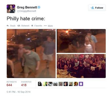 philly hate crime