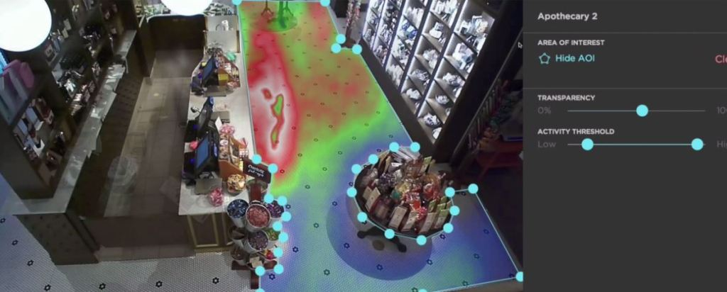 heat mapping retail