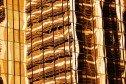 Reflective building facade