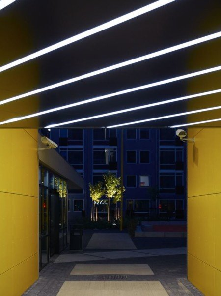 City Living residence in the Netherlands, showing monitoring in various lighting conditions