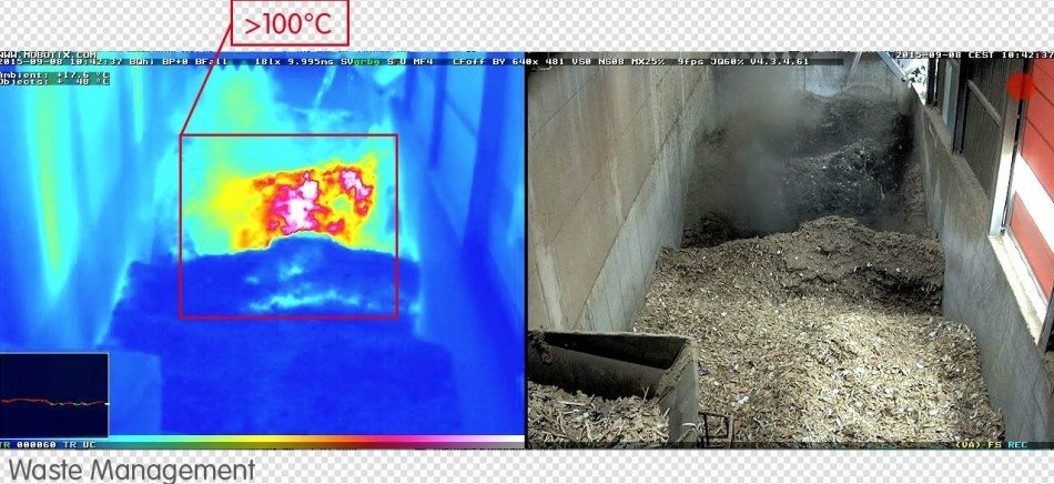 mobotix thermal heat detection camera