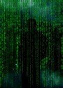 cyber binary man threat
