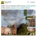 Tweet Clandon Park 2