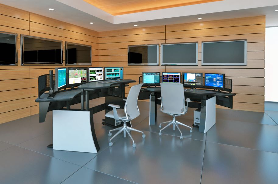 Control Room Furniture Property winsted to debut impulse control-room console at ifsec