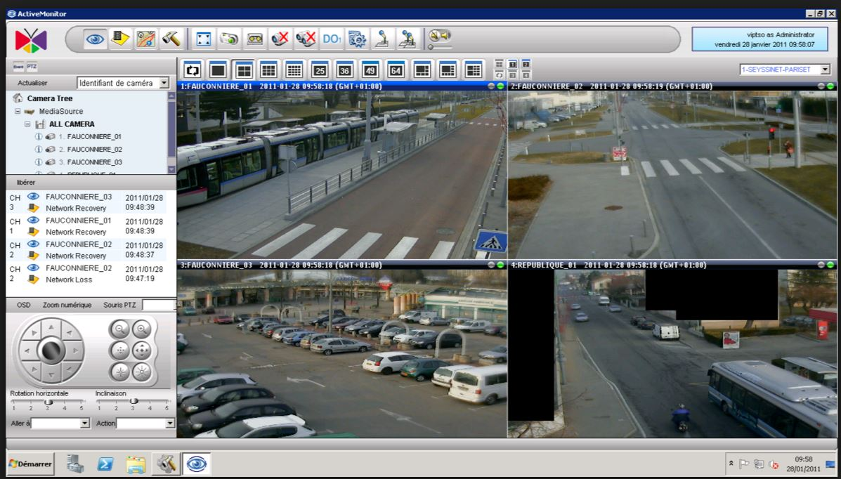 Traffic monitoring from ACTi's unified solution