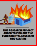 False Fire Alarms Infographic