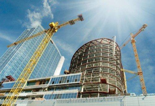 complex modern steel structures