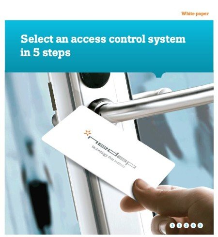 nedap select access control system in 5 steps