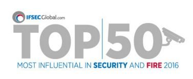 Top 50 Most Influential People in Security and Fire 2016