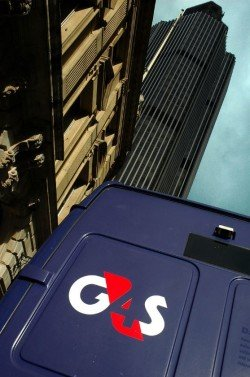 A G4S van in central London (photo: G4S Ltd, under FAL licence