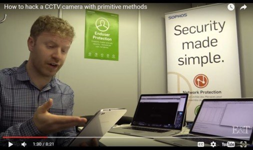 Watch how to hack a security camera  It's alarmingly simple