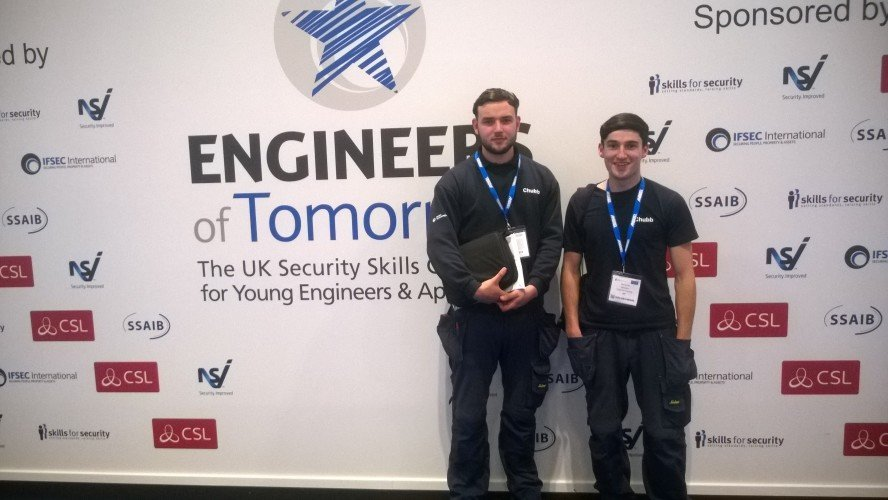 Installer interviews: Chubb Fire & Security apprentices on