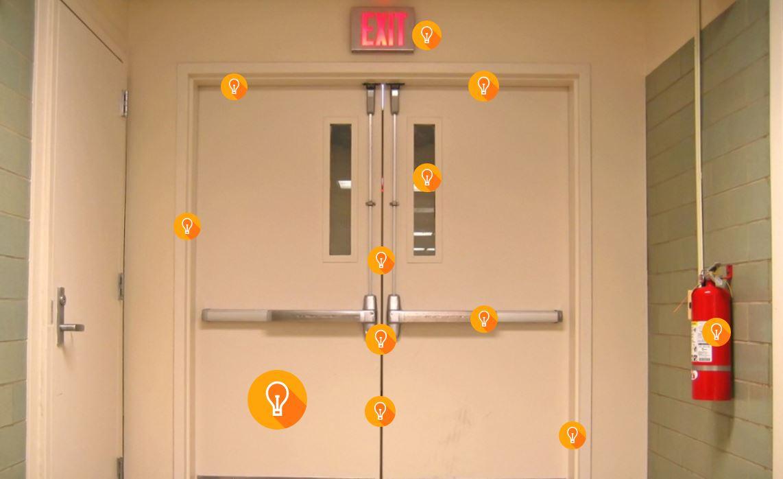 Fire door where do i need fire doors fire safety expert for Idea fire door