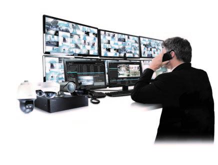 Hanwha Techwin Wisenet SSM is integrated with TDSi EXgarde PRO