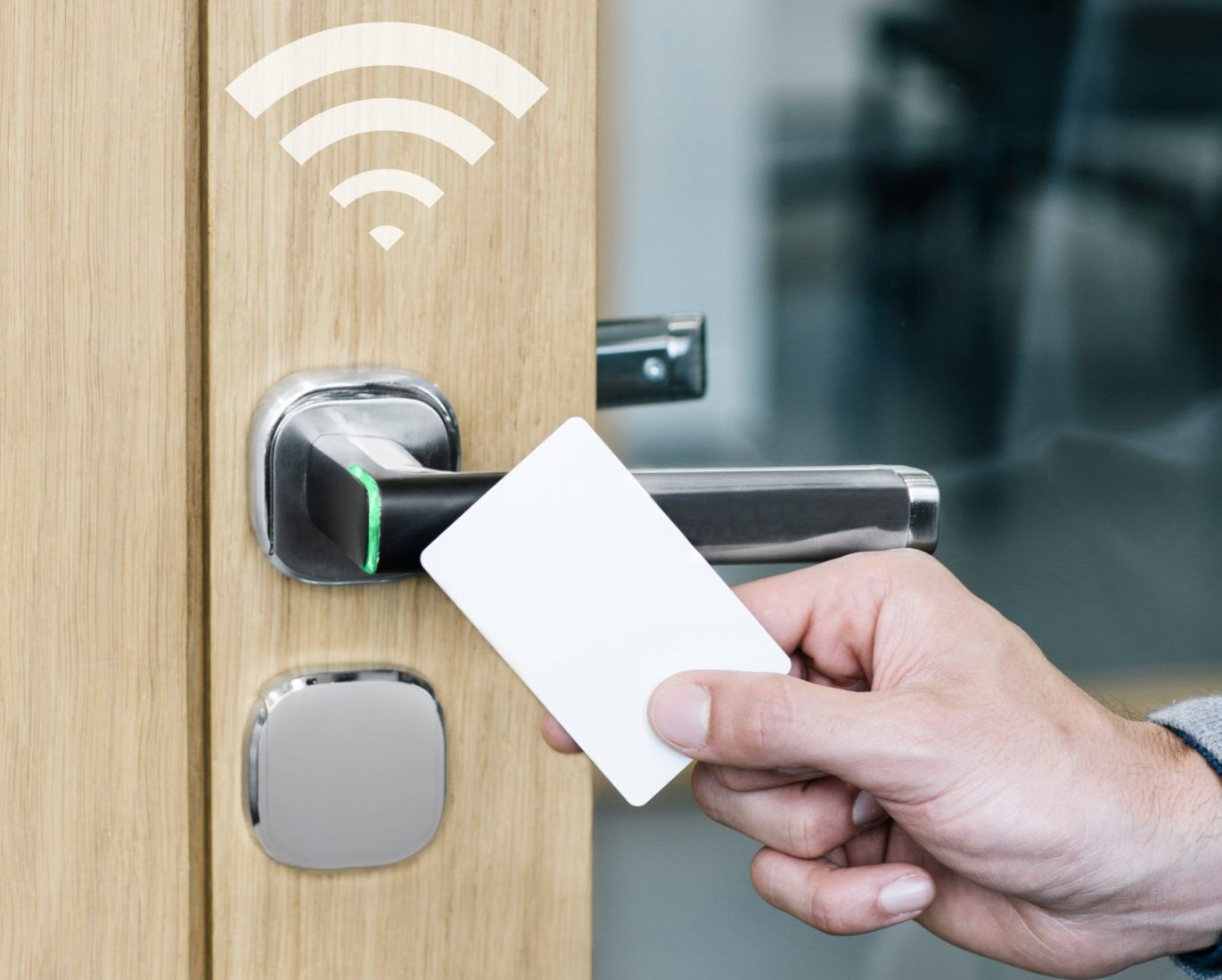 New Aperio H100 Easy To Integrate Wireless Access Control Technology Is Now Inside A Stylish Door Handle