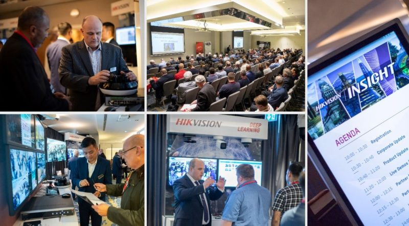 Hikvision Insight events showcase latest innovations in AI-powered