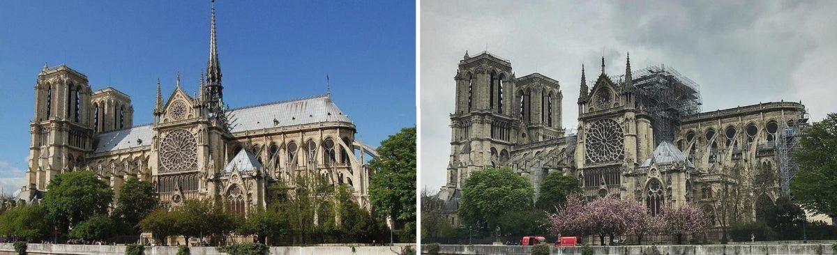 Notre Dame blaze: fire experts on safeguarding heritage sites
