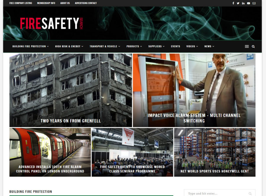 Fire Safety Search launches new website