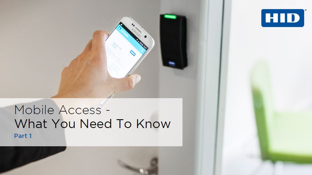 Mobile access series #1: What you need to know